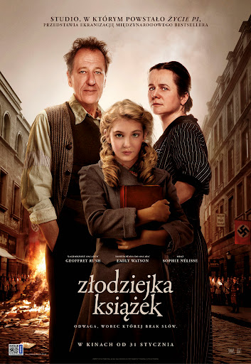 Polski plakat filmu 'Złodziejka Książek'
