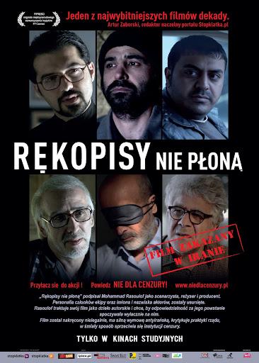 Polski plakat filmu 'Rękopisy Nie Płoną'
