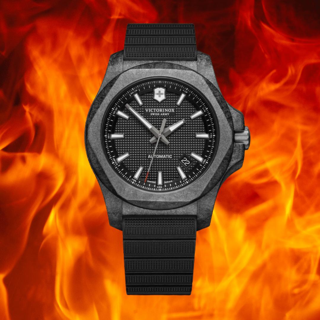 Photo of a Victorinox I.N.O.X. Carbon watch