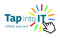 tap into it logo