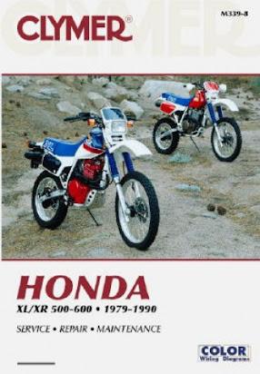Honda Xl 500r Service Manual