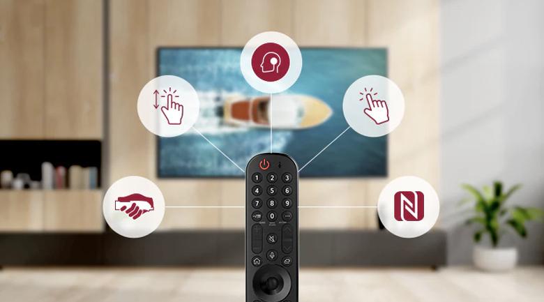 Smart Tivi LG 4K 86 inch 86UP8000PTB-Magic Remote thông minh