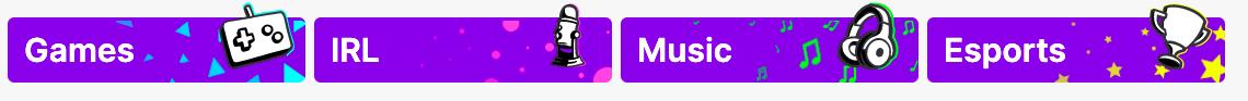 Twitch directories