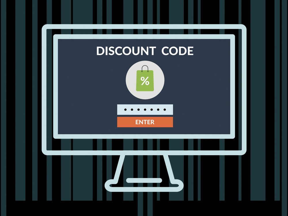 Look for Coupon Codes
