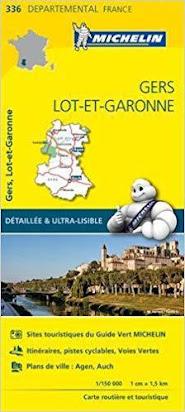 telecharger carte michelin gratuit Télécharger Gratuit Carte Gers, Lot et Garonne Michelin PDF EPUB