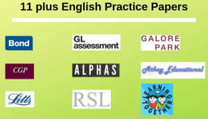11 plus English Practice Papers