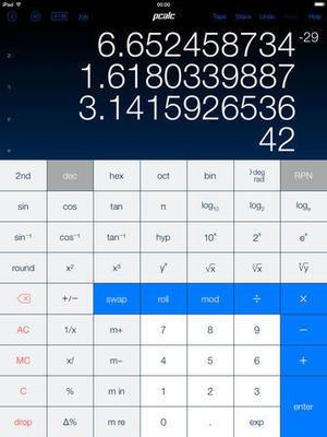 Pcalc App -  Top iOS Calculator App