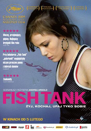 Przód ulotki filmu 'Fish Tank'
