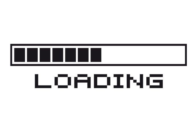 Muursticker Loading... | Loading bar, Wall sticker, Wall bar
