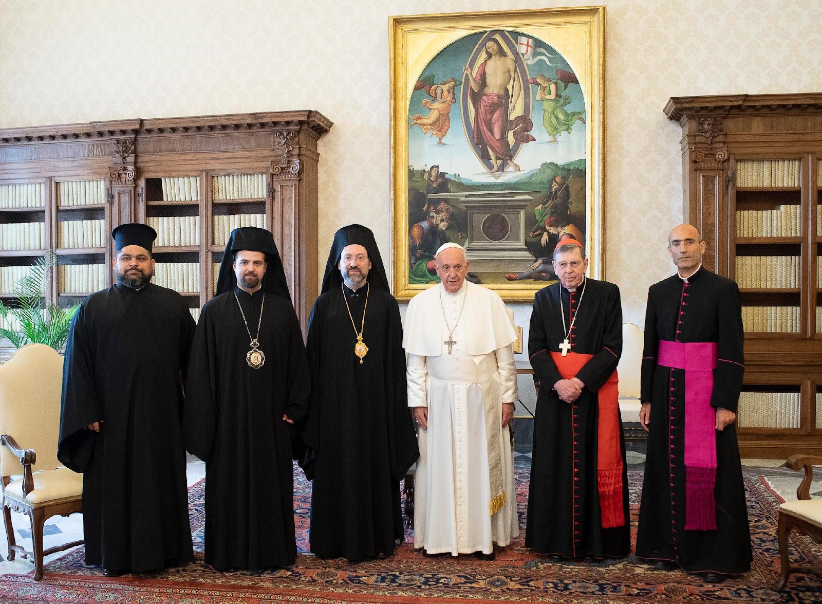 Đức Thánh Cha Phanxico tiếp phái đoàn Thượng phụ Đại kết