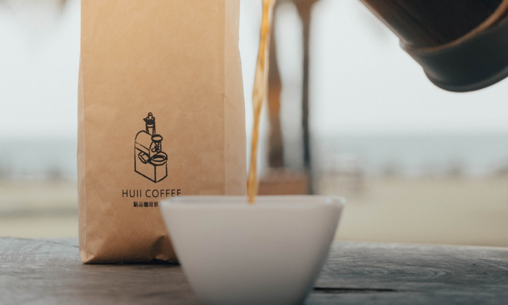 recyclable kraft paper coffee bags