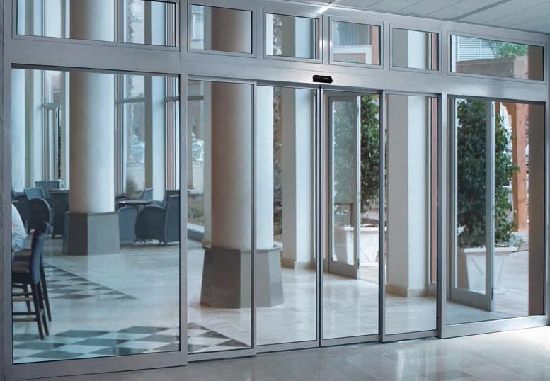 Cửa cổng tự động của thương hiệu Sabeco