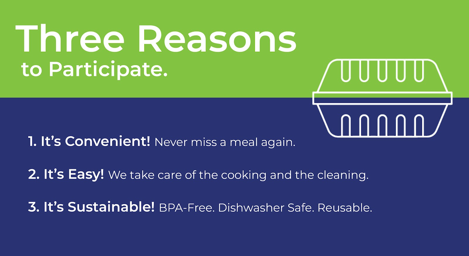 It's Convenient. It's Easy. It's Sustainable.
