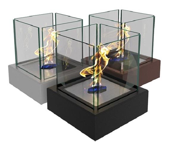 Настольный биокамин Quant metall