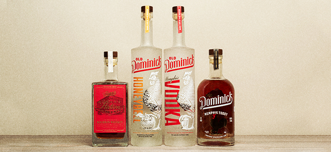 Craft Spirits From Old Dominick Distillery
