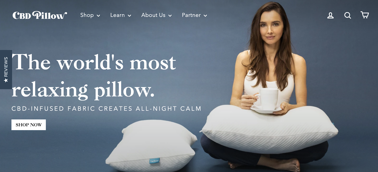 CBD Pillow | Brands Looking for Influencers