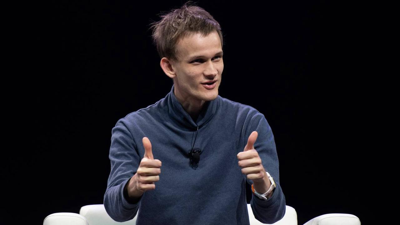 A picture of Ethereum's founder, Vitalik Buterin.