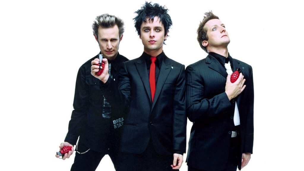 Modern Rock Band - Green Day