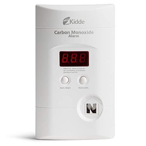 Kidde Nighthawk Plug-In AC/DC Carbon Monoxide Alarm Detector with...