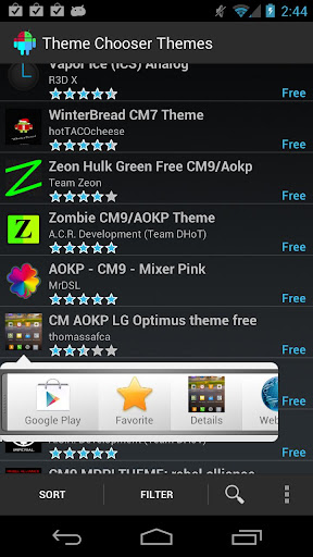 Theme Chooser Themes apk