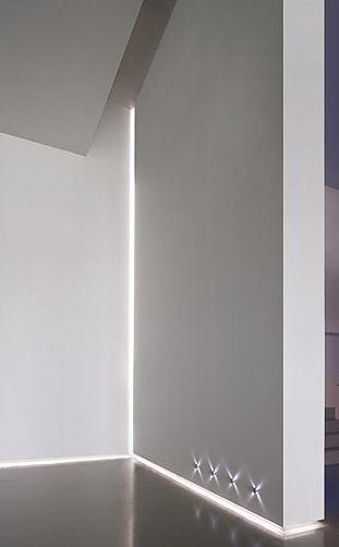 Corner and Skirting lighting via Profile Lights