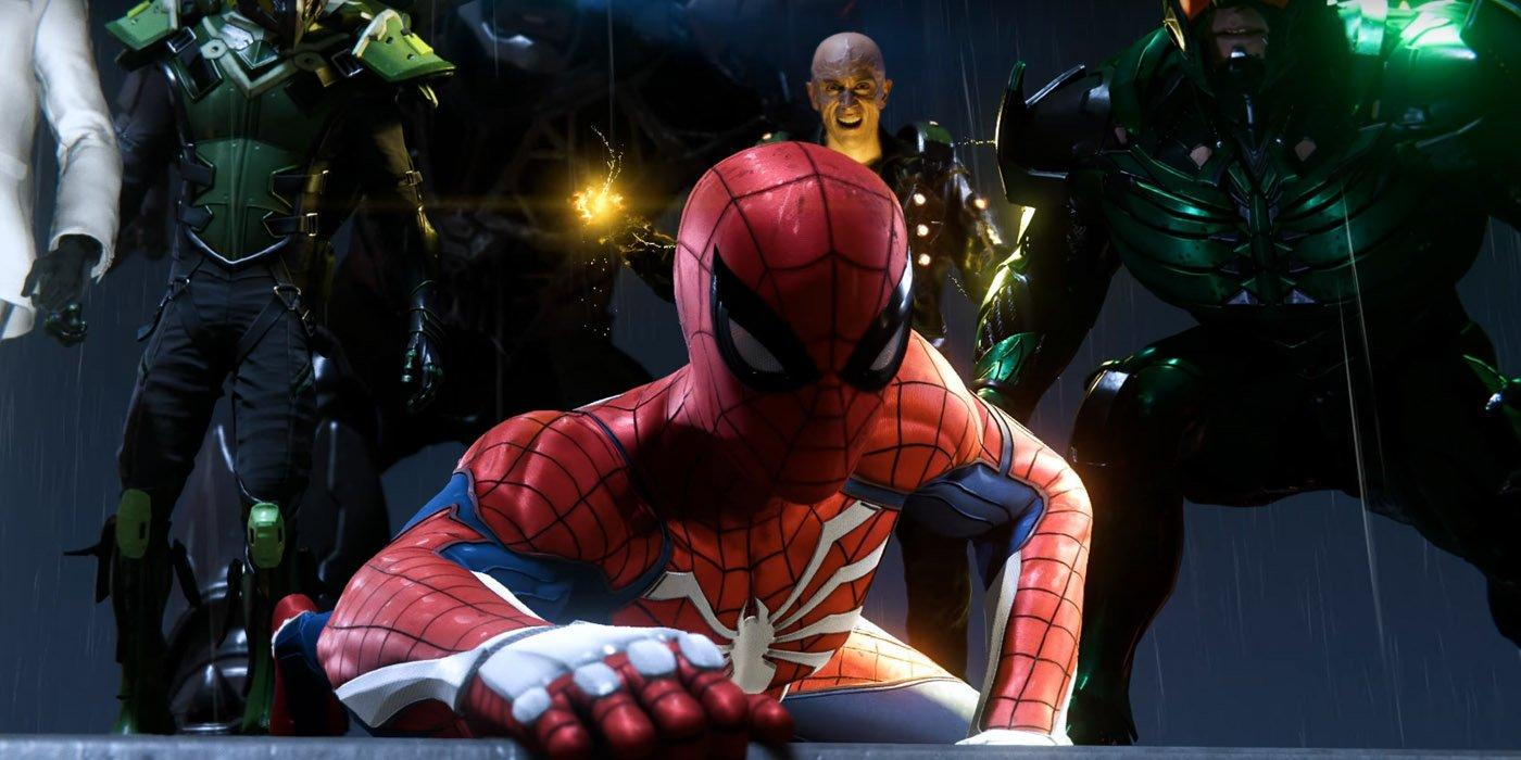 Image result for dr octopus spider man ps4