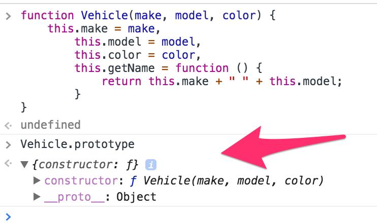 فئات JavaScript classes article- Constructor 3
