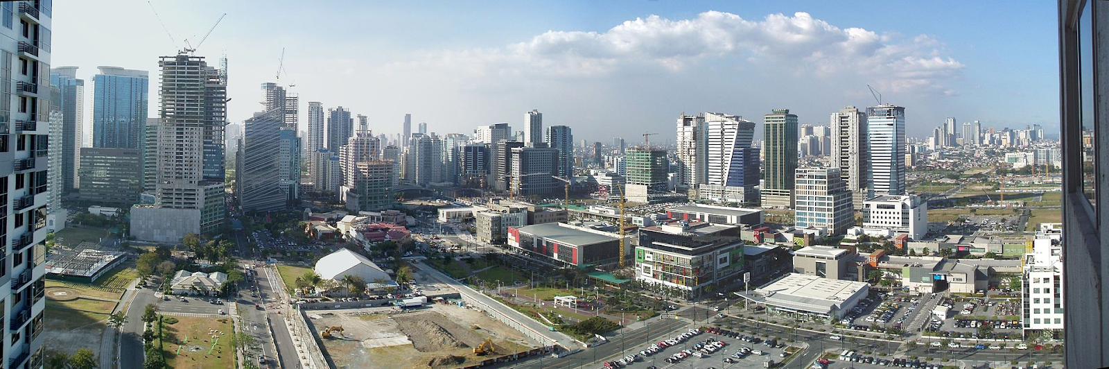 bonifacio global city skyline