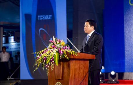 Khai mac Cho cong nghe va thiet bi Ha Noi - Techmart Hanoi 2016 - Anh 3