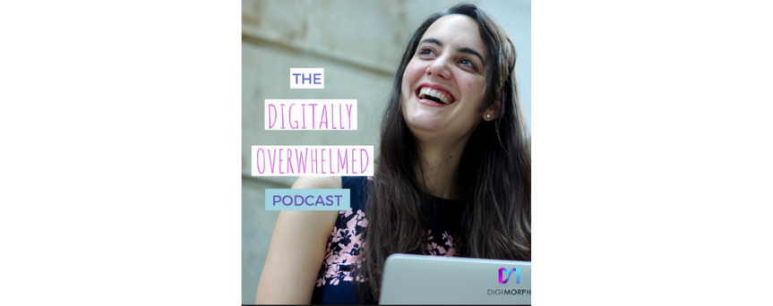 Digitally Overwhelmed Podcasts logo