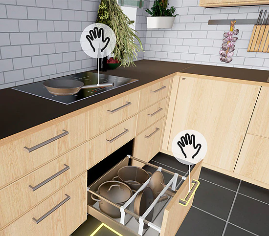 Ikea VR kitchen