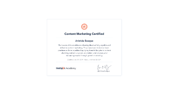 How to become a hubspot certified digital marketer?