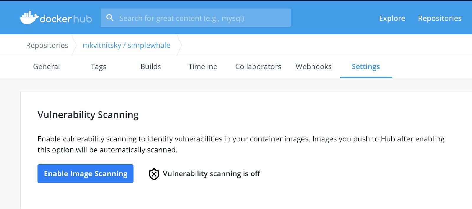 Combining Snyk Scans in Docker Desktop and Docker Hub to Deploy ...