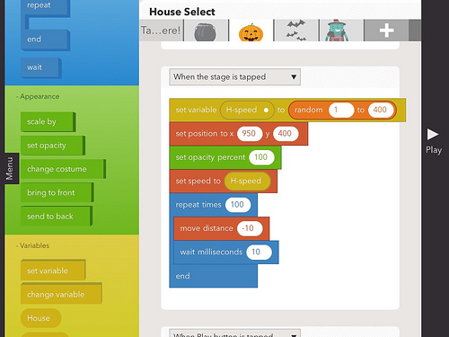 Hopscotch for iPad Coding by