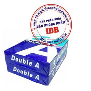 Phân phối văn phòng phẩm giấy Double A