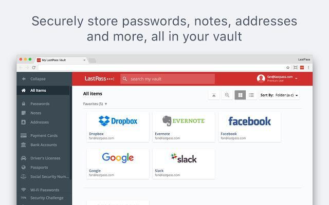 LastPass: Free Password Manager - Chrome web-trgovina