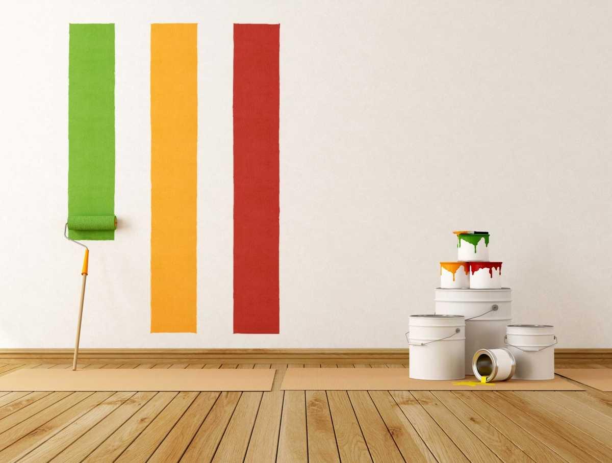 Как правильно выбрать краску для дома и сделать выкрасы