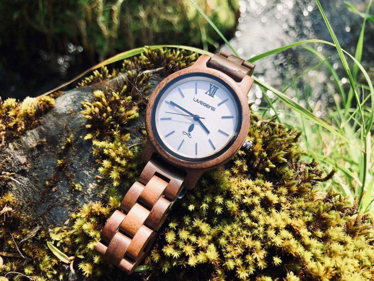 Fotos Cuerpo Mente - Livegens Reloj_madera_amazonas