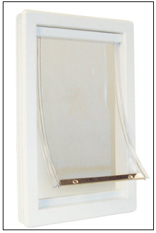 Ideal Original Pet Door with Clear Flap ...  sc 1 st  Pet Doors : flap door - pezcame.com