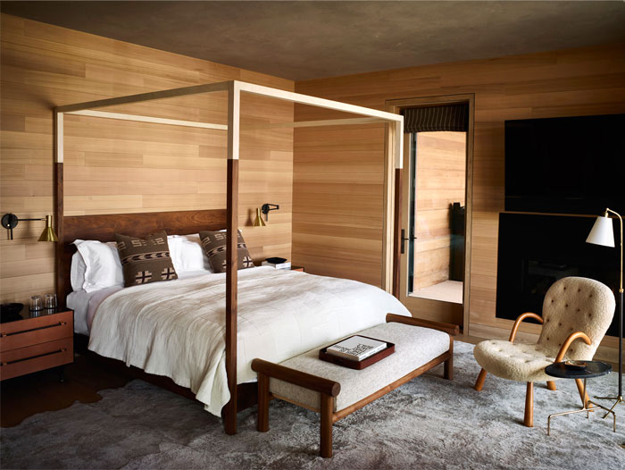 Classy Vibes with Wooden Designs Men's Bedroom Ideas