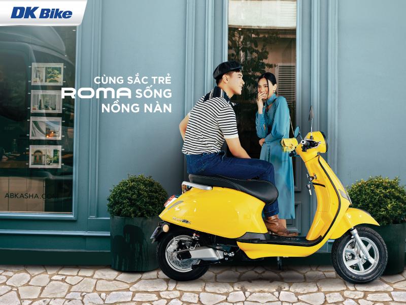 Cac mau xe ga 50cc xe dien phu hop cho hoc sinh - 4