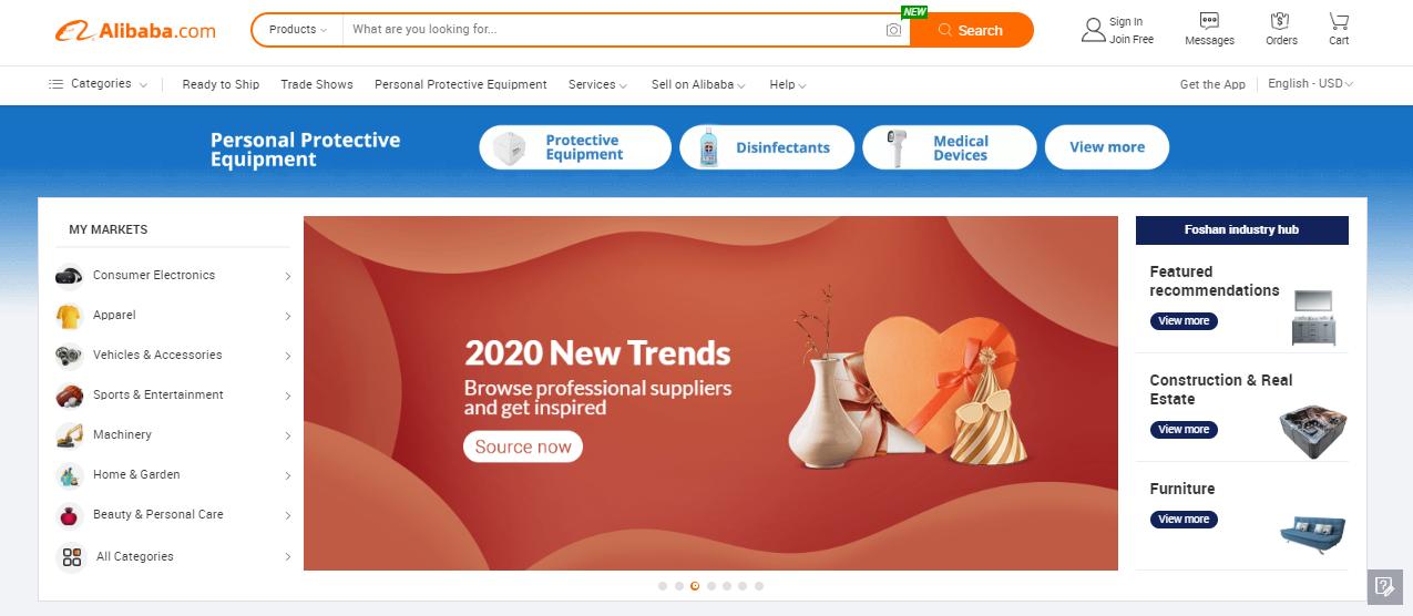 Alibaba - B2B marketplace