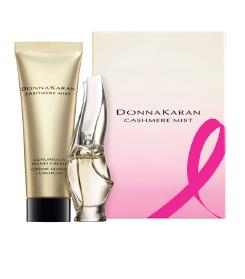 Estée Lauder Pink Ribbon Products - Donna Karan Cosmetics Cashmere Duo  ~ #BreastCancerAwarnessMonth