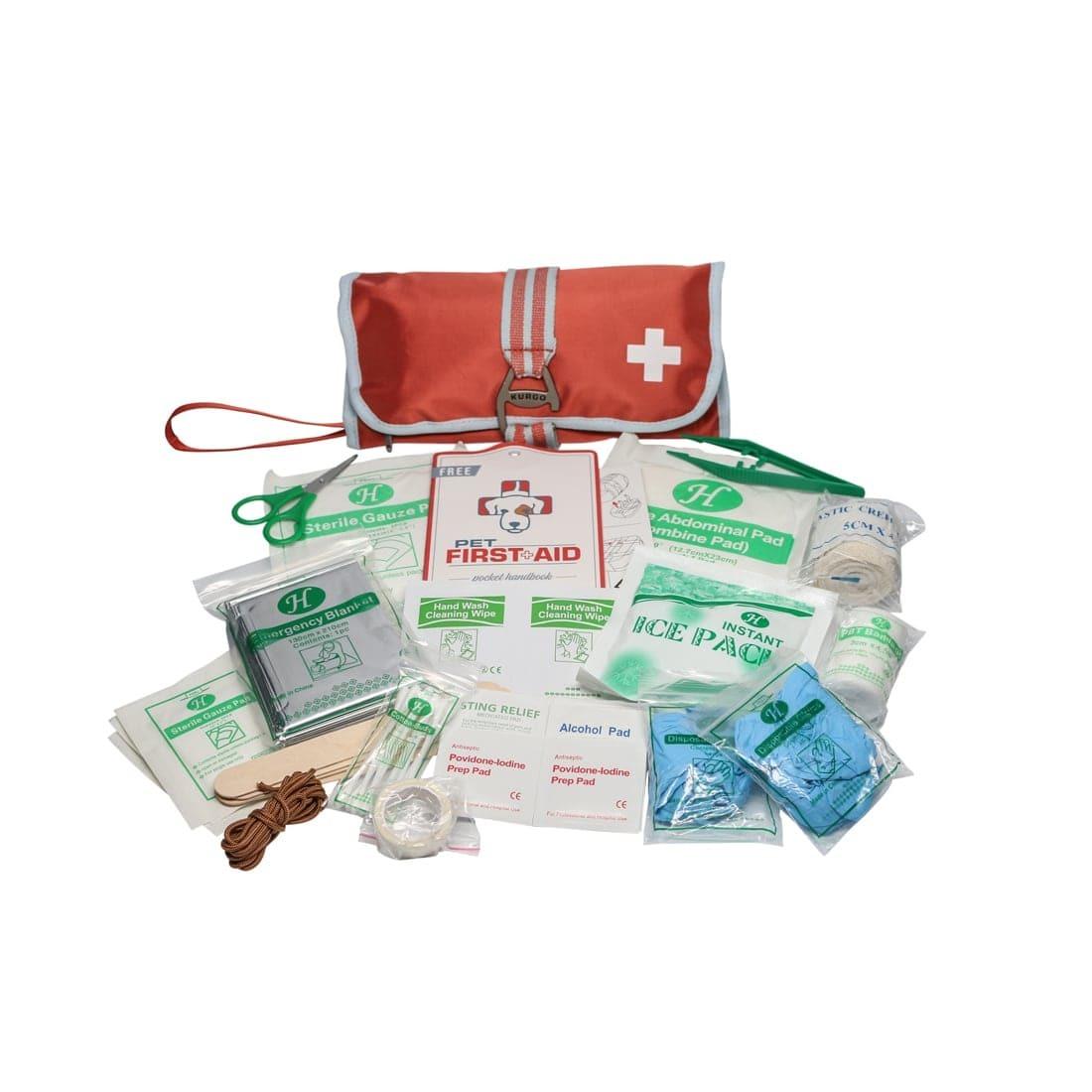 Kurgo First Aid Kit -- road trip emergency kit supplies