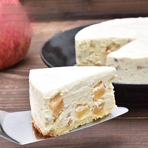 NATURE SALUTEりんごとナッツのレアチーズケーキ