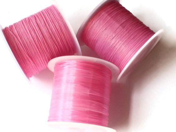 chất liệu elastic thread