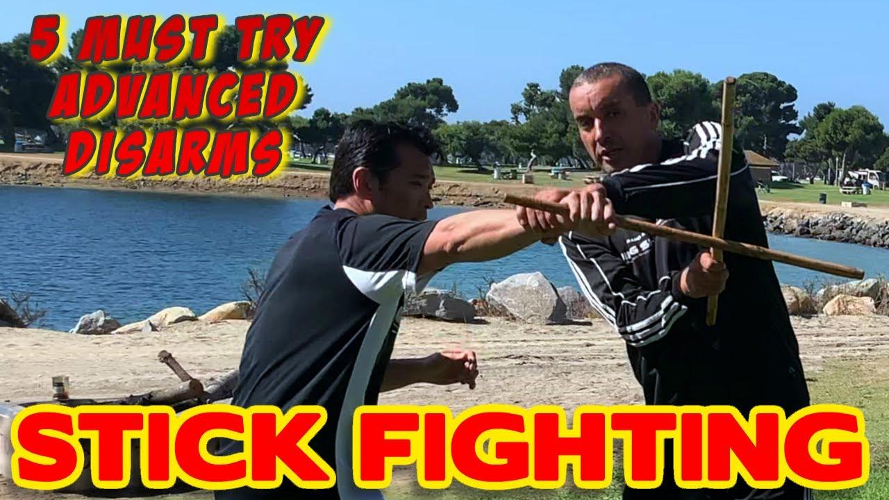 5 Stick Fighting Disarms ☑️ Advanced Escrima ⚔️ Real Self ...