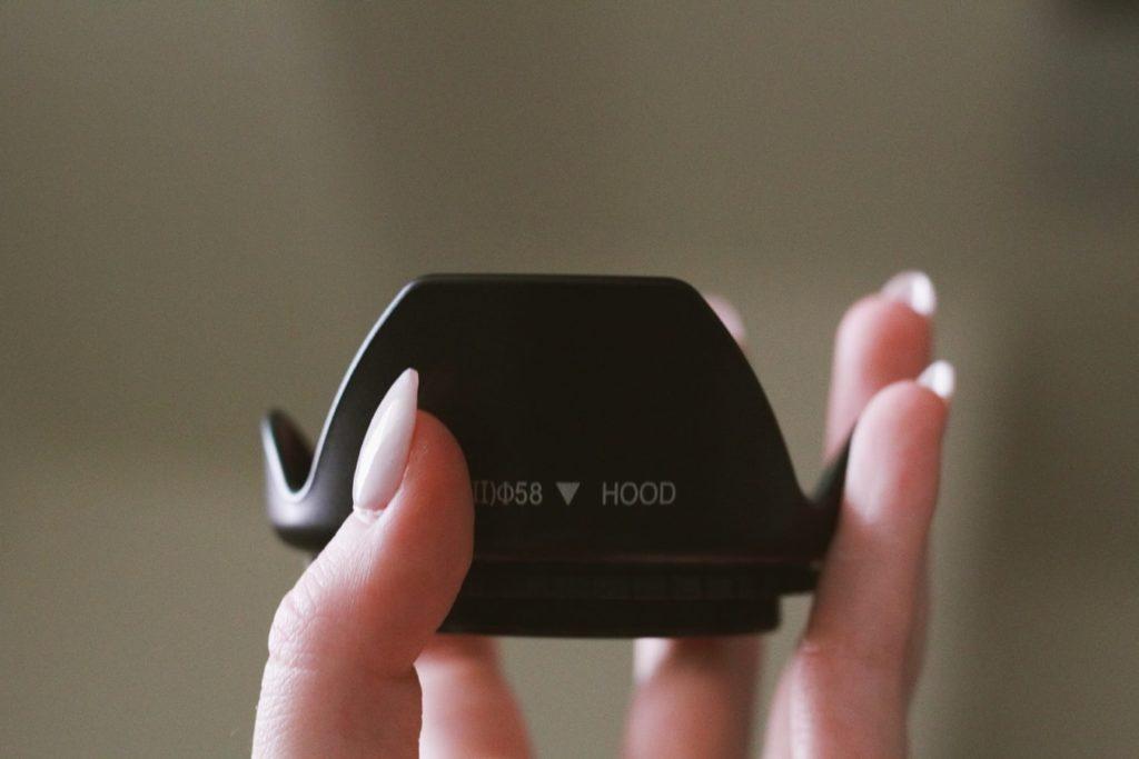 lens hood reduces lens flare