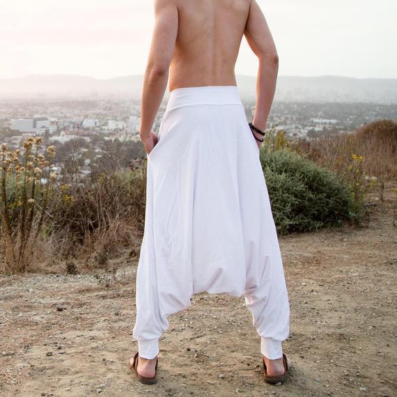 Harem Pants Men Sarouel Homme Burning Man Costumes Harem   Etsy