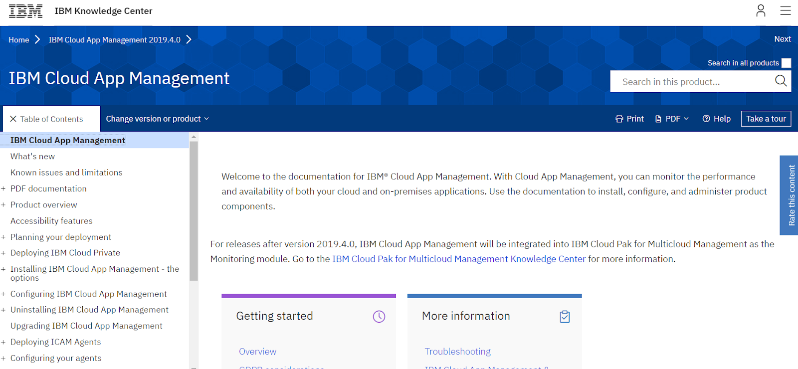 IBM Cloud App Management is one of the best niche players in Application Performance Monitoring Tools in the market